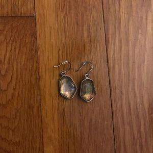 Ocean Lace Drop Earrings